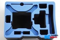 Výstelka pro DJI Phantom 4 pro kufr G36, modrá