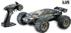 RC auto 9136X Racing truggy, modrá