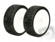 XTEC vodní Dunlop D20 1/10 bezd. pneumatiky nalepené 2ks