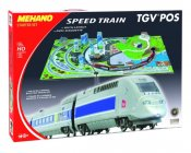 MEHANO Speed train TGV POS s maketou tratě
