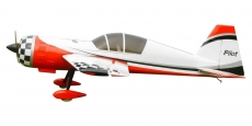 Yak 54 scale 37,5% (3 100 mm) 150ccm (červeno/bílá)