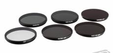 Zenmuse X5 series - sada filtrů ND4/PL, ND8/PL, ND16/PL