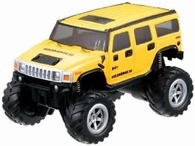 Mini RC Monster Truck, žlutý