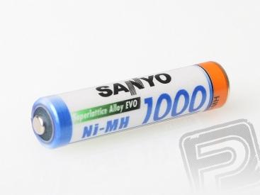 1.2V 1000mAh MICRO SANYO AAA 1ks.