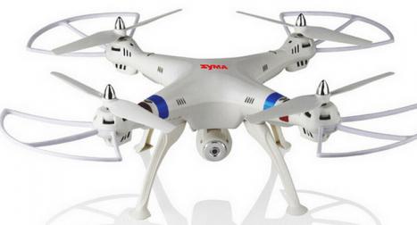 RC dron Syma X8C, bílá