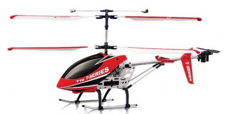 RC vrtulník MJX T610, červená
