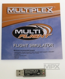 85165 USB-Interface MULTIflight Stick vč. MULTIflight PLUS CD (Windows)