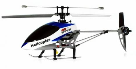 RC vrtulník Double Horse 9116, modrá