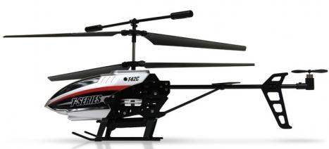 RC vrtulník MJX T642C, šedá
