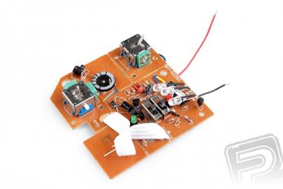Deska plošného spoje vysílače