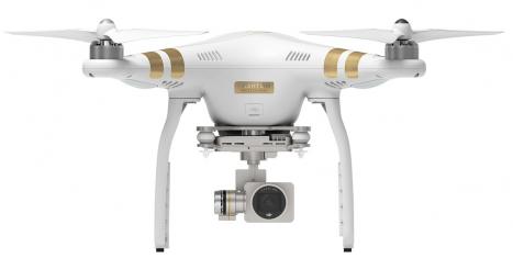 BAZAR - RC dron DJI Phantom 3 Professional (3x aku)
