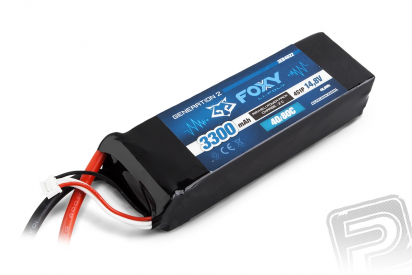 FOXY G2 - LC Li-Pol 3300mAh/14,8V 40/80C 48,8Wh