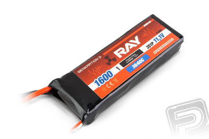 G3 RAY Li-Pol 1600mAh/11,1 30/60C Air pack 17,8Wh