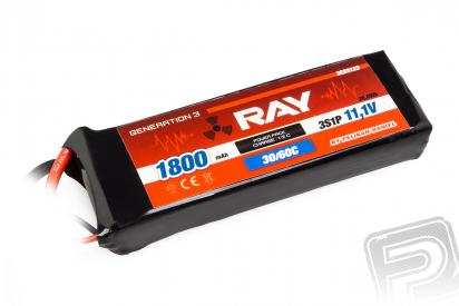 G3 RAY Li-Pol 1800mAh/11,1 30/60C Air pack 20,0Wh