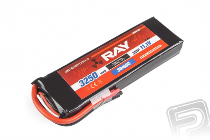 G3 RAY Li-Pol 3250mAh/11,1 30/60C Air pack 36,1Wh