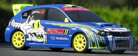 Karoserie čirá Subaru WRX STI Sverre Isachsen (WR8)