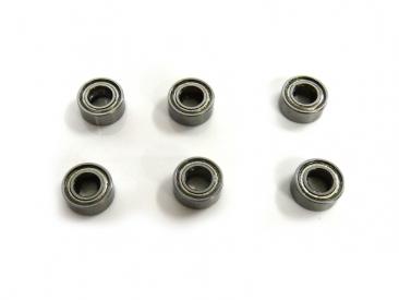 Kuličkové ložisko 10x5x4 mm (6 pcs)