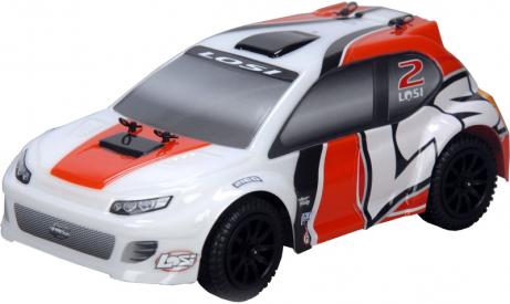 RC auto Losi Micro-Rally Car 1:24, oranžová/bílá
