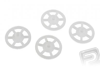 Mini Q4 - hlavní ozubené kolo, 4ks.