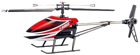 RC vrtulník MJX F-49, červená