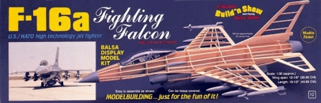 Model letadla F-16A Fighting Falcon 1:30