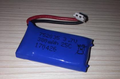 Náhradní akumulátor Li-Pol 3.7V / 380mAh