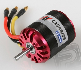RAY C3548/05 outrunner brushless motor (5mm hřídel)