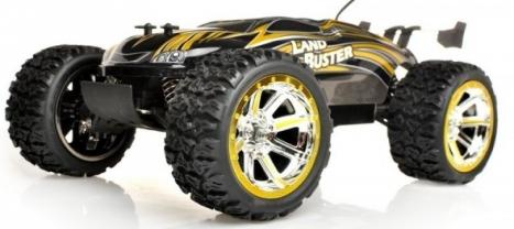 RC auto Buster Truggy, zlatá