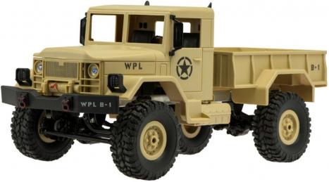 RC auto Military Truck, písková