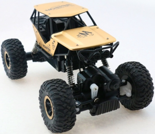 RC auto Strong Crawler, zlatá