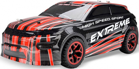 RC auto X-Knight 1:18 RTR 4WD, červená