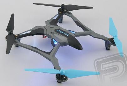 RC dron Dromida Vista UAV Quad, modrá