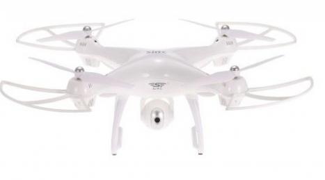 Dron S70W, bílá