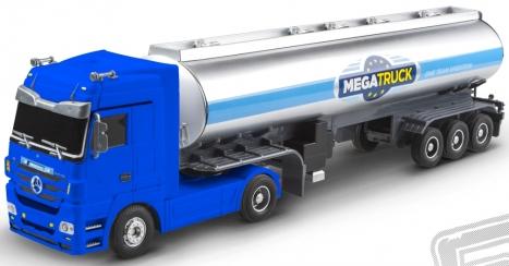 RC kamion cisterna Mercedes Benz - modrá
