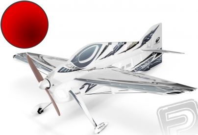 RC letadlo Venus, červený