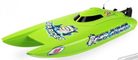 RC loď Offshore Lite Sea Rider V3, zelený