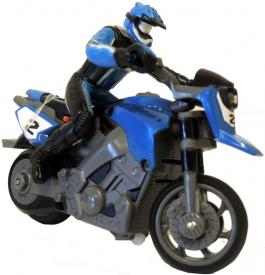 RC mini motorka 1:43 - modrá
