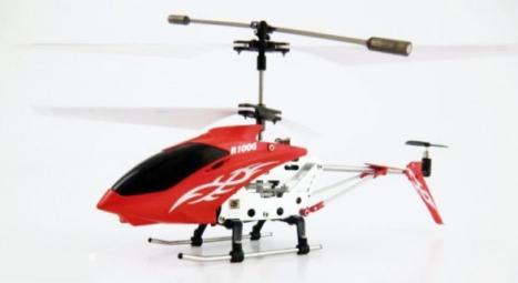 RC vrtulník Rayline 100G Infra RTF, červená