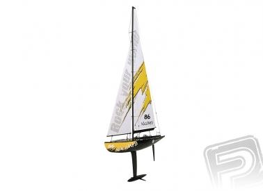 RC plachetnice Naulantia, žlutá