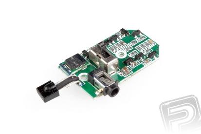 Řídící elektronika s gyroskopem