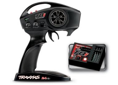 Traxxas - vysílač TQi 2 kan., přijímač