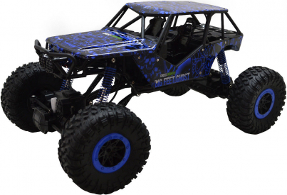 RC auto Rock Crawler 1:10, modrá