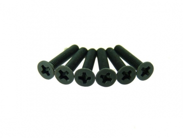 Zápustný šroub 3x16 mm (6 ks)