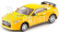 RC auto mini kovové, žluté Nissan