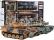 RC soubojové tanky s kouřem 2,4 GHz