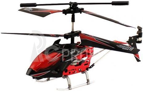 RC vrtulník WL Toys S929, červená