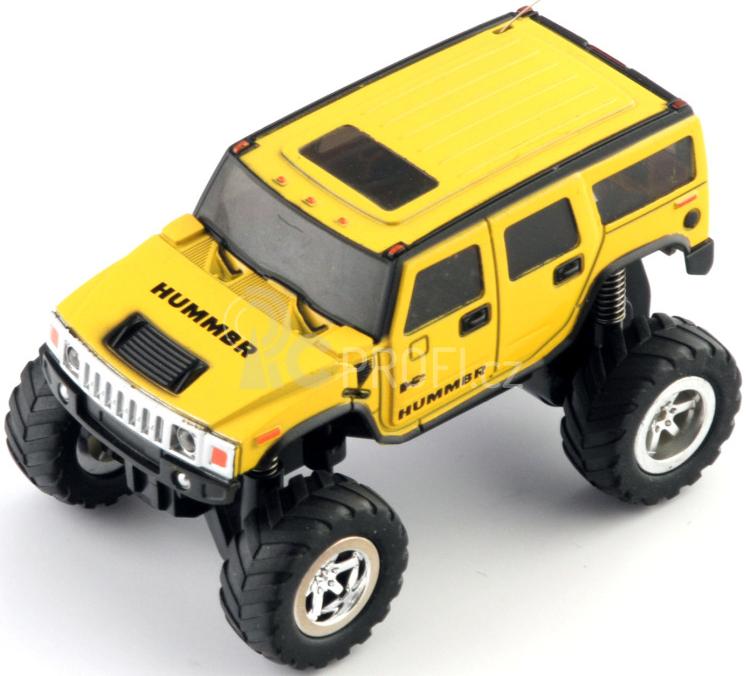 RC auto MINI HUMMER 2011, žlutý
