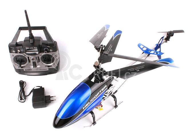 RC vrtulník Double Horse 9118, modrá