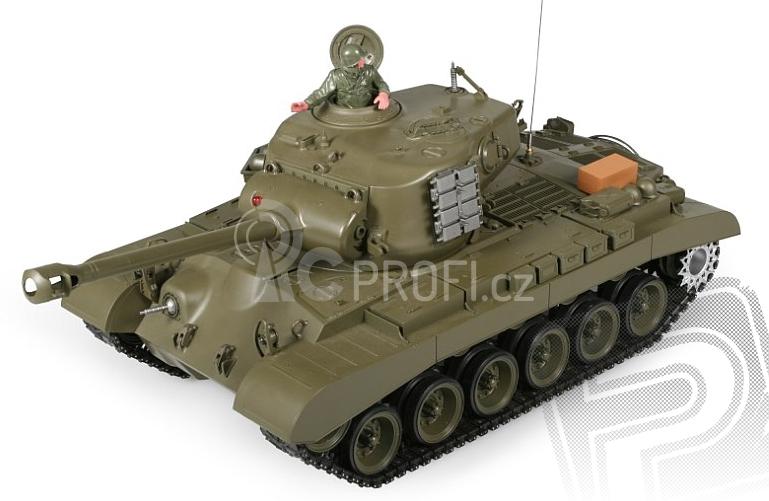 RC tank M26 PERSHING SNOW LEOPARD