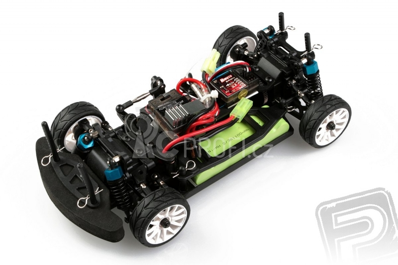 RC auto Himoto ON-ROAD 1:16, červená